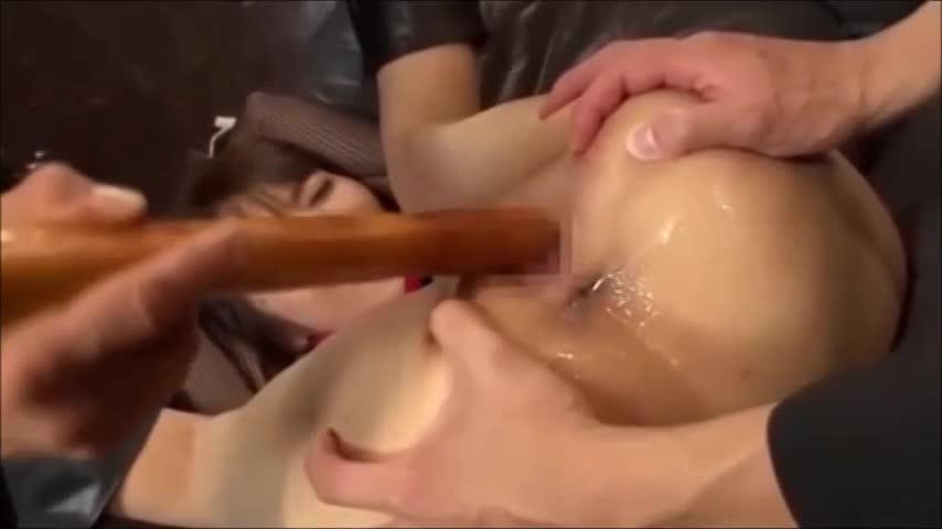 顔射 SM/排便 ぶっかけ |仮面をつけた男たちに捕らえられたくノ一忍者がマングリ返しにされて精子ぶっかけられる。【アダルト無料動画】
